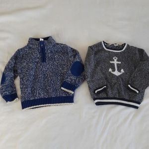 Gymboree/ Janie & Jack Toddler Boy Sweater Lot 2T